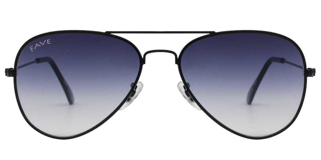 FAVE Brigadier Unisex Fashion Pilot Sunglass