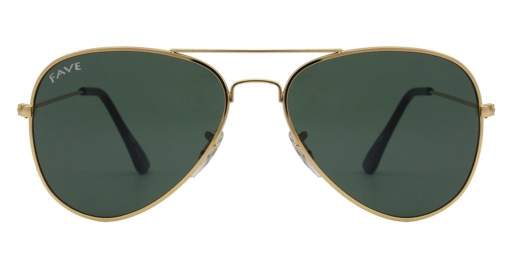 FAVE Brownie Unisex Fashion Pilot Sunglass