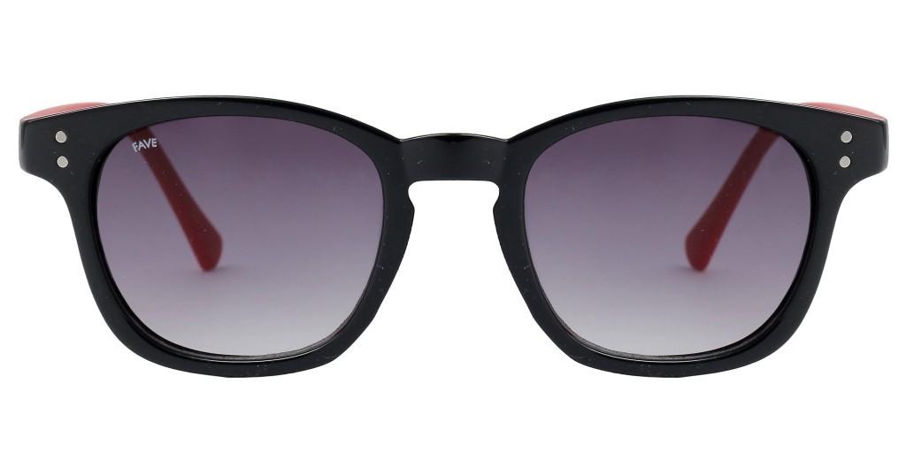 FAVE Marshall Unisex Fashion Square Sunglass