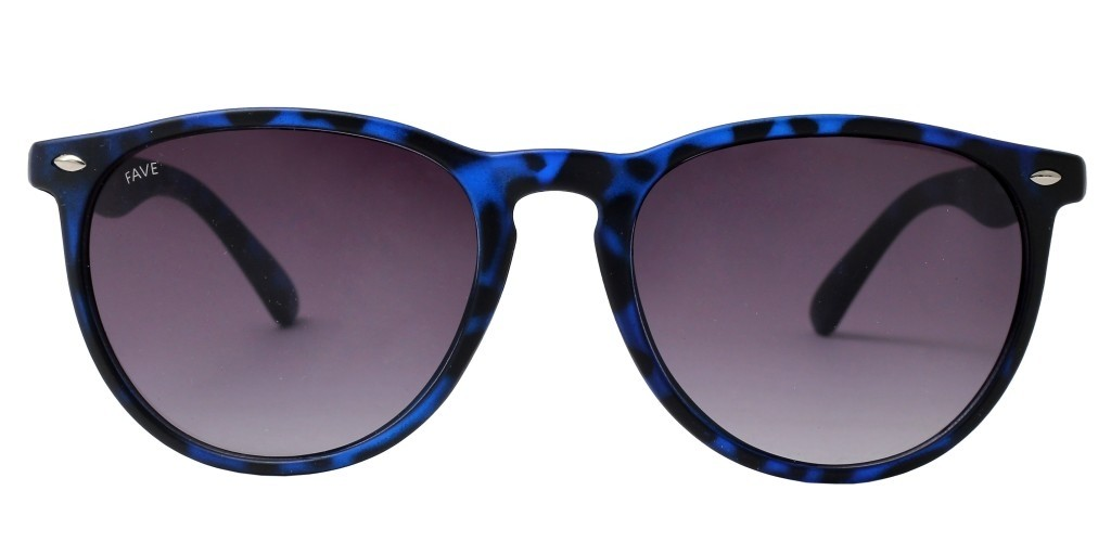 FAVE Neon Women Fashion Oval Sunglass